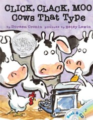 Click, Clack, Moo: Cows That Type  -     Narrated By: Randy Travis     By: Doreen Cronin     Illustrated By: Betsy Lewin