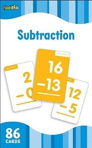 Subtraction, Flash Cards