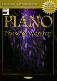 Piano Praise & Worship: Piano Solo Keepsake Edition   -
