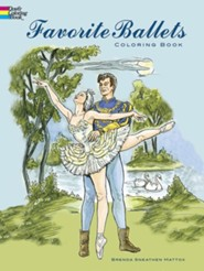 Favorite Ballets Coloring Book  -     By: Brenda Sneathen Mattox