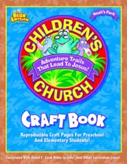 Childern's Church Craft Book: Reproducible Craft Pages for Preschool and Elementary Students!