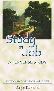 A Study In Job: A Ten Verse Study  -     By: Marge Ecklund