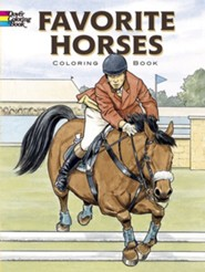 Favorite Horses: Coloring Book