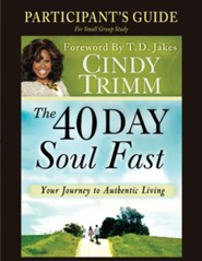 40 Day Soul Fast Participant's Guide  -     