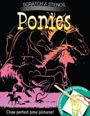 Scratch & Stencil: Ponies