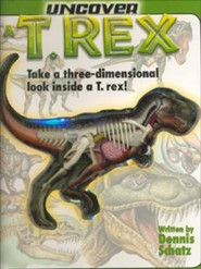 Uncover A T-Rex [With Dinosaur Model]