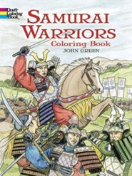 Samurai Warriors: Coloring Book