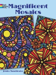 Magnificent Mosaics Coloring BookGreen Edition  -     By: Jessica Mazurkiewicz
