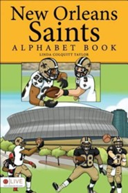 New Orleans Saints Alphabet Book