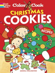 Color & Cook Christmas Cookies Green Edition  -     By: Monica Wellington