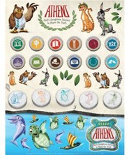 Sticker Sheets , Package of 10 Sheets  -