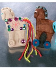 Trojan Horse Treasure Boxes, Package of 10  -