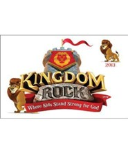 Kingdom Rock Iron-On Transfers, Package of 10