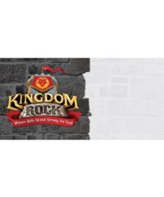 Kingdom Rock Logo Outdoor Banner