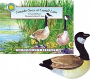 Canada Goose at Cattail Lane [With Plush]