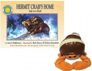 Hermit Crab's Home: Safe in a Shell [With Stuffed Toy]
