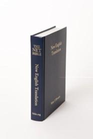 Net Bible-Pew, Cloth, Navy