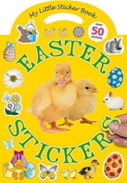 Easter Stickers: My Little Sticker Book [With Over 50 Stickers]