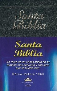Santa Biblia-Rvr 1960-Mini, Imitation Leather, Black