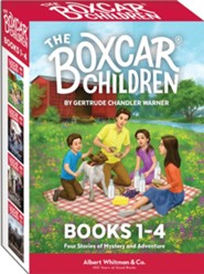 The Boxcar Children Mysteries Boxed Set #1-4 - Slightly Imperfect