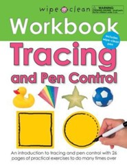 Tracing and Pen Control [With Wipe Clean Pen]  -     By: Roger Priddy