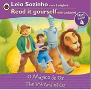 The Wizard of Oz, Bilingual: Fairy Tales, Level 4,  Portuguese