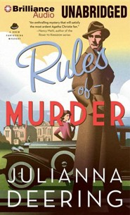 #1: Rules of Murder - unabridged audiobook on CD  -     Narrated By: Simon Vance     By: Julianna Deering