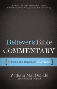 The Believer's Bible Commentary  - Slightly Imperfect