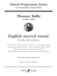 English Sacred Music  -     By: Thomas Tallis