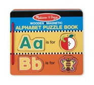 Magnetic Alphabet Puzzle Book (52 pieces)