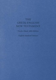 The Greek-English New Testament, Nestle-Aland 28th Edition (NA28)/ESV
