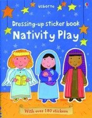 Nativity Play, Dressing-up Sticker Book