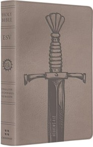 ESV Kid's Compact Bible (TruTone, Silver Sword), Imitation Leather