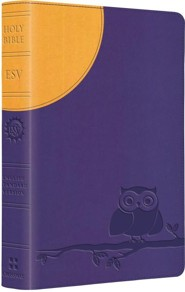ESV Kid's Compact Bible (TruTone, Moonlight Owl), Imitation Leather