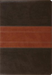ESV Study Bible (TruTone, Forest/Tan, Trail Design, Indexed), Imitation Leather