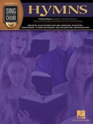 Hymns-Sing With the Choir (SATB Book/CD)   -