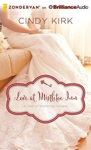 Love at Mistletoe Inn: A December Wedding Story - unabridged audiobook on CD