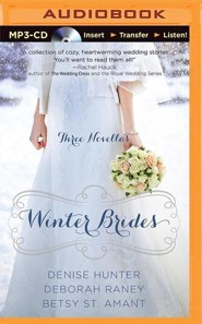 Winter Brides: A Year of Weddings Novella Collection - unabridged audiobook on MP3-CD