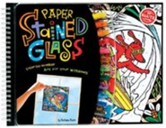 Paper Stained Glass: Color-By-Number Art for Your Windows [With Suction Cups and Framing Strip and Felt Markers and Frames]