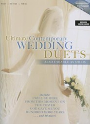 Ultimate Contemporary Wedding Duets with Accompaniment Track