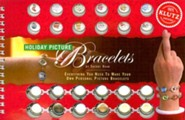 Holiday Picture Bracelets [With 12 Droplets and Sticky Dots]