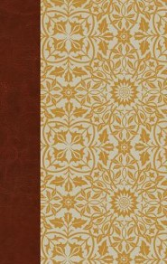ESV Large Print Personal Size Bible, Cloth over Board, Sunflower