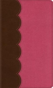 ESV Thinline Bible, TruTone, Chocolate/Pink, Sundae Shoppe