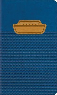 ESV Thinline Bible, TruTone, Unsinkable Ark, Blue - Imperfectly Imprinted Bibles