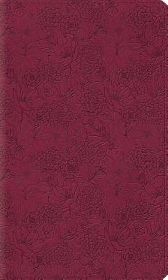 ESV Thinline Bible, TruTone, Pink Petals