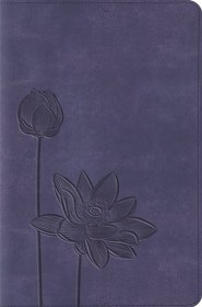 ESV Compact Bible, TruTone, Lavender Bloom,