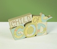 Child of God Wood Word  -