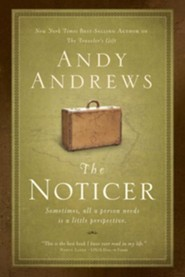 The Noticer: Sometimes, all a person needs is a little perspective - unabridged audiobook on CD