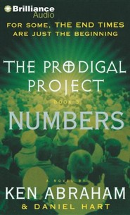 #3: The Prodigal Project: Numbers - unabridged audiobook on CD