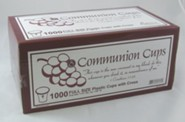 Communion Cups with Cross, Box of 1000
